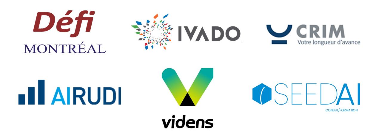 Logos conférenciers GA.IA Airudi Videns Seed AI