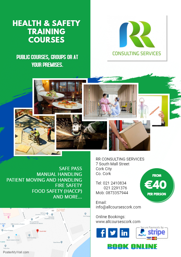 Safety Courses RR Consulting Services Cork