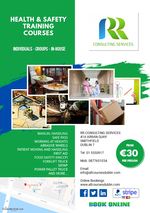 health and safety training dublin