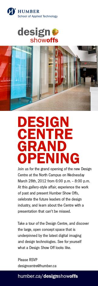 Design Show Off Event