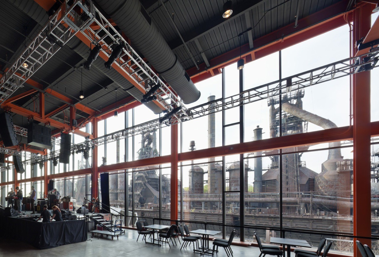 View of Steelstacks from ArtsQuest
