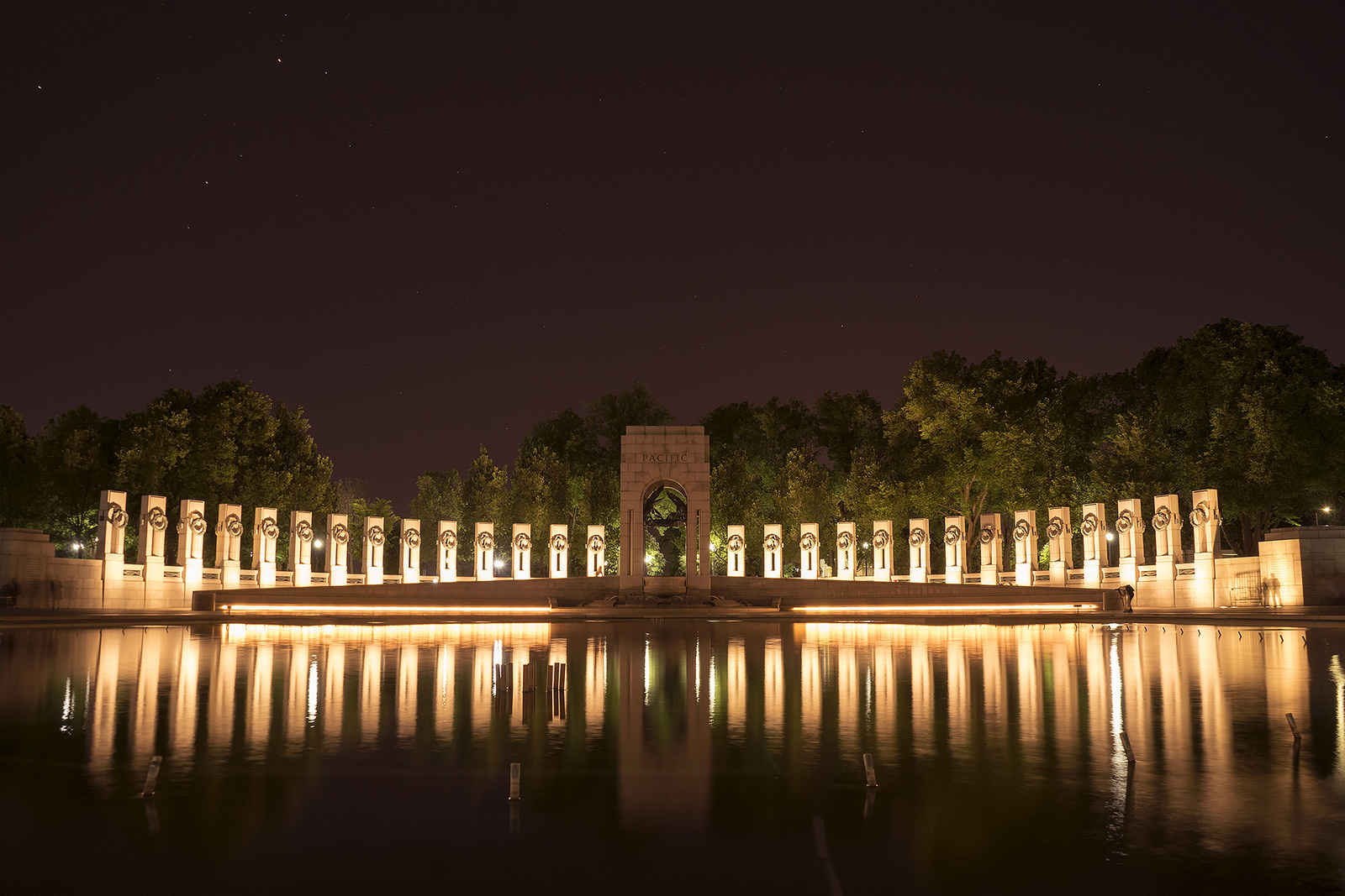 The WWII Memorial by Angela Pan