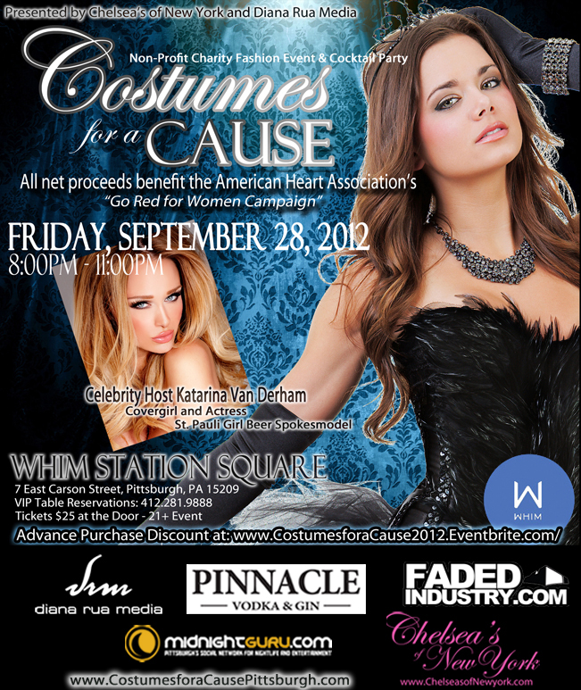 pittsburgh charity event, costumes for a cause by chelsea's of new york