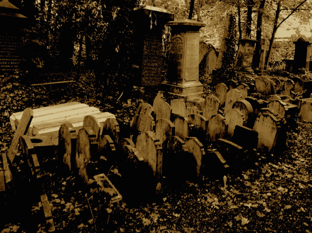 Abney Park paupers graves