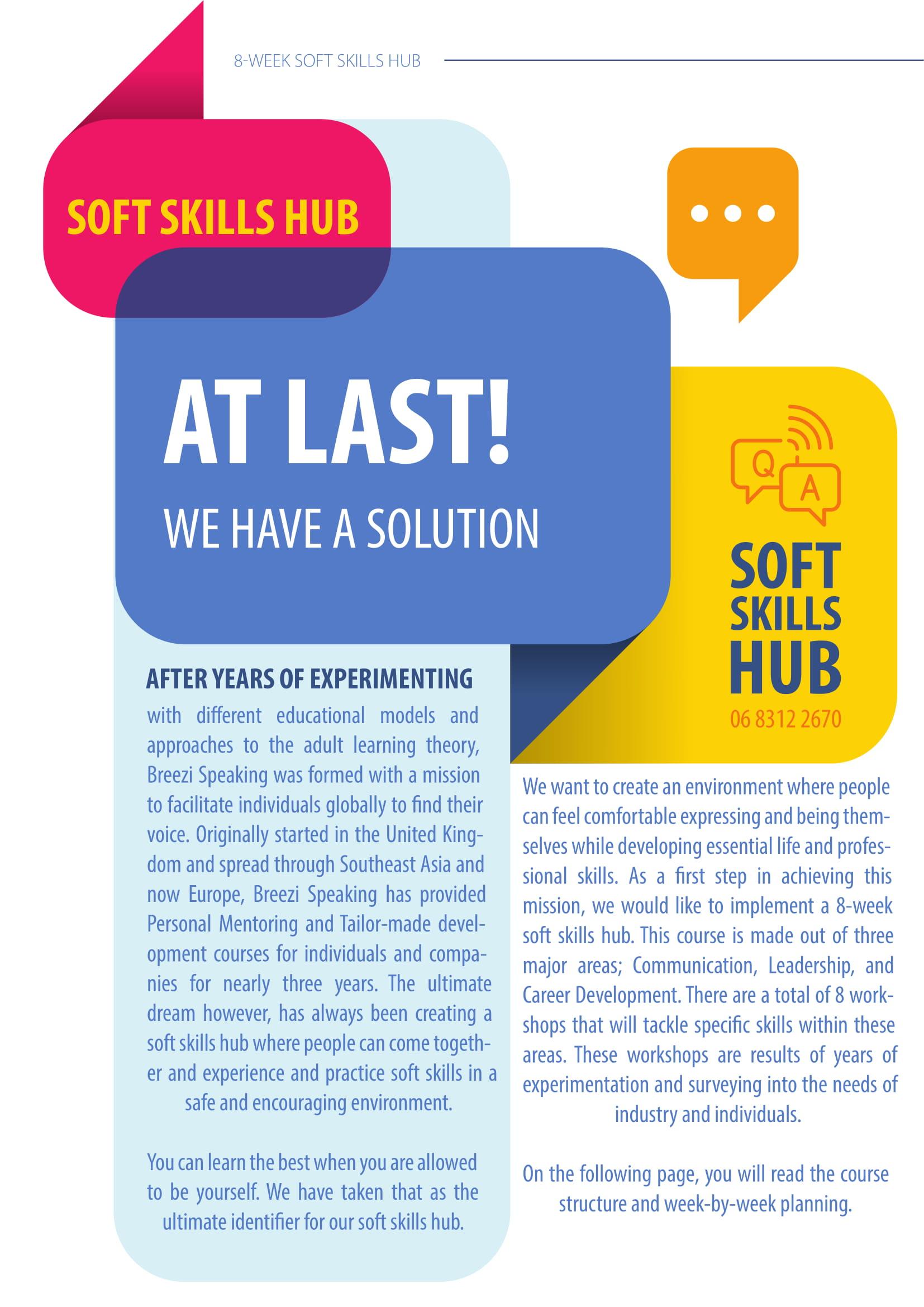 Soft Skills Hub Intro