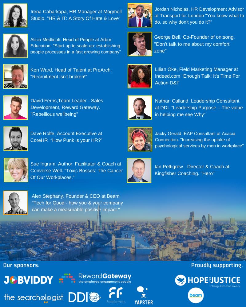 December London speakers