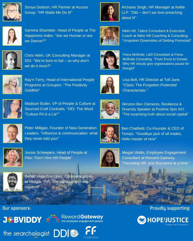 March London Speakers