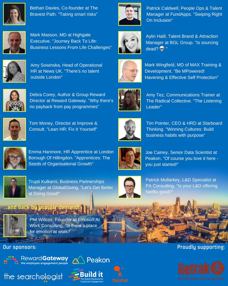June 5 speakers
