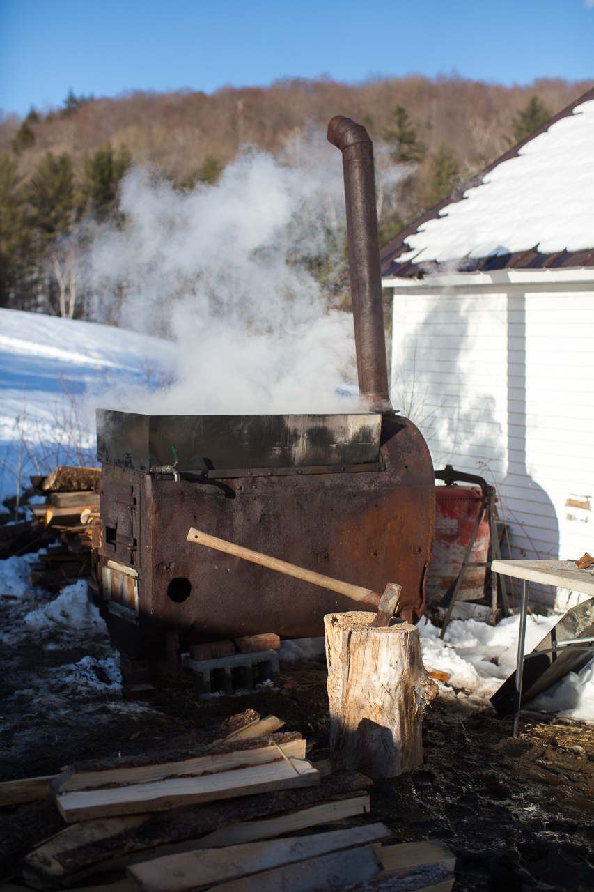 Wood Fired Vermont Maple Syrup