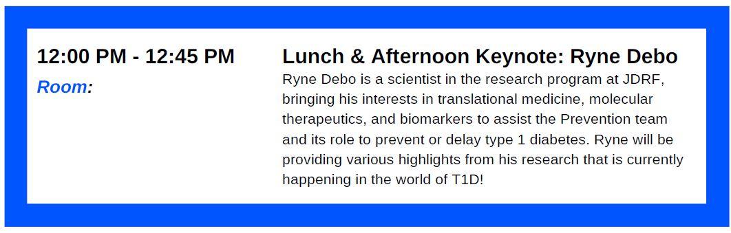 lunch keynote