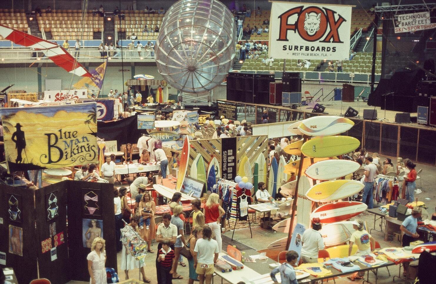 The Original Van Surf & Skate Expo WPB. 1980