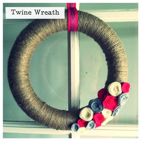 Twine Wreath Craft