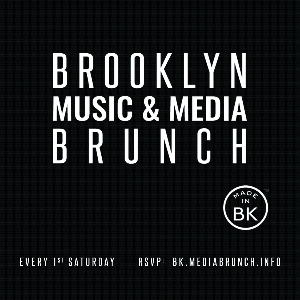 Brooklyn Music & Media Brunch Flyer