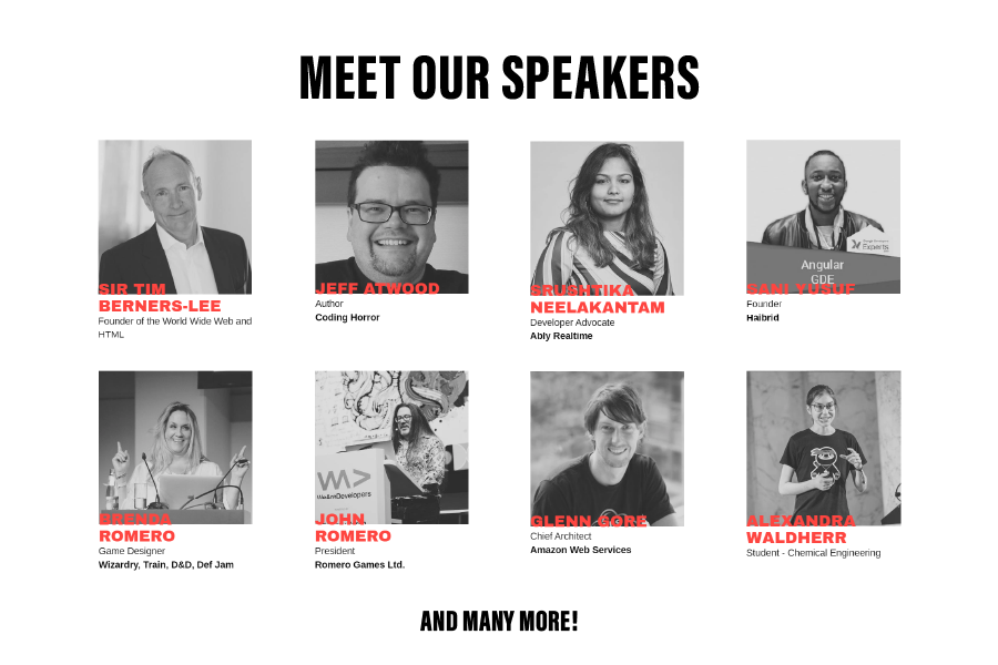 Meet our Speakers