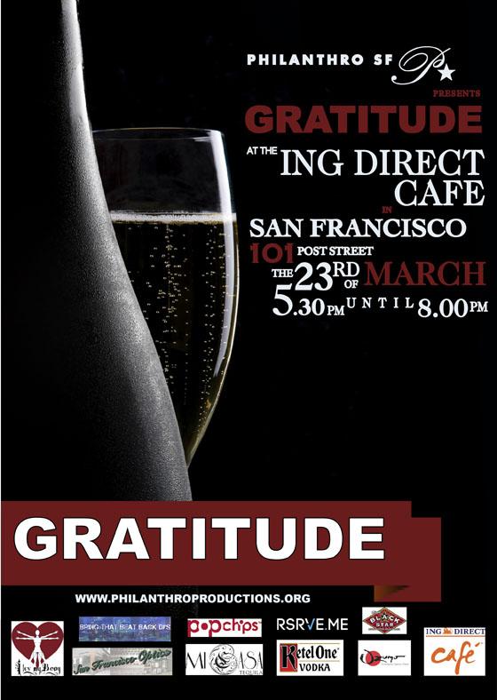 Gratitude flyer