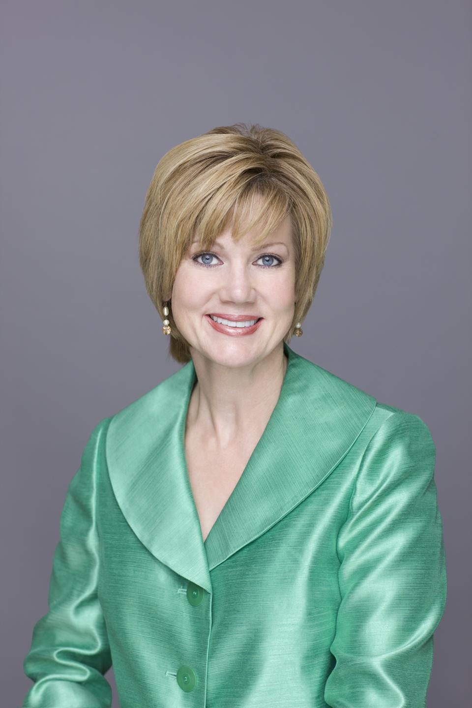 ABC-TV Host Janet Davies
