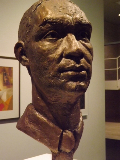 Richard Wright sculpture by Margot McMahon