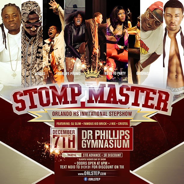 Stompmaster Stepshow Art