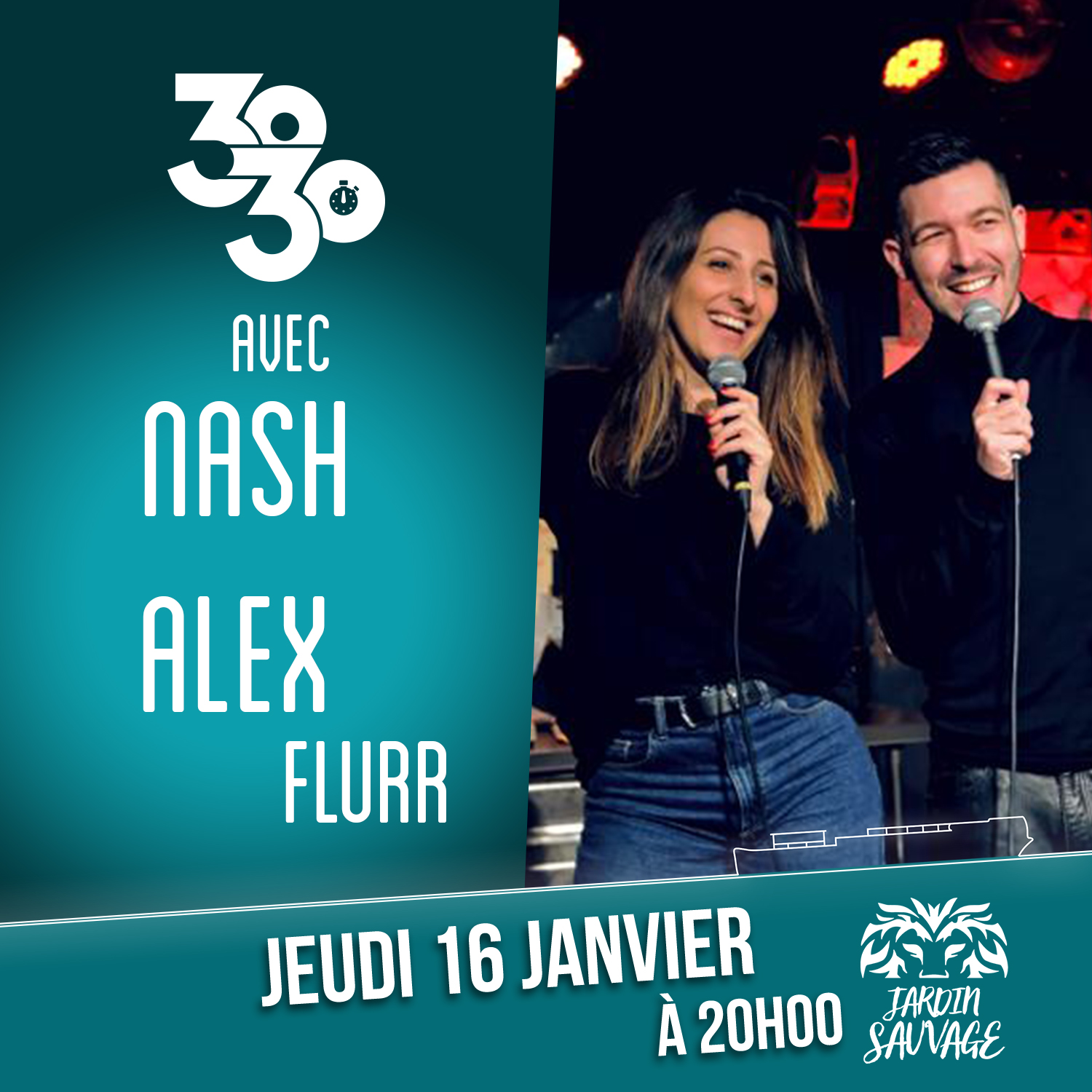 30/30 unique de Nash et Alex Flurr !!