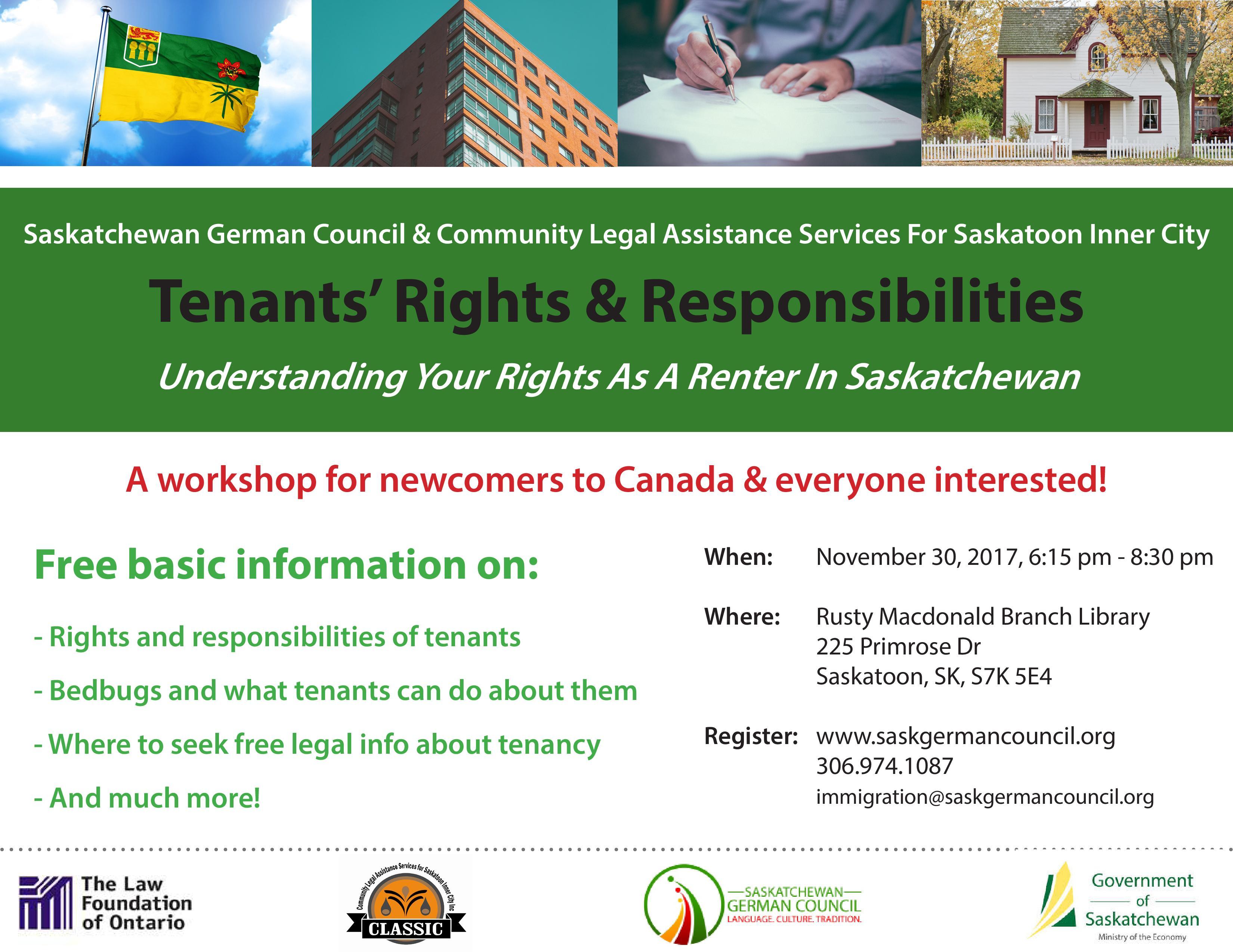 Tenants' Rights & Responsibilities