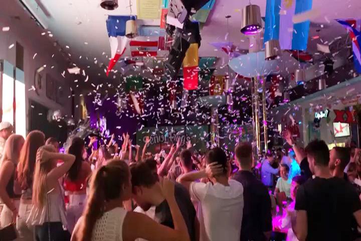 Senor Frog's Miami Beach Confetti Blast