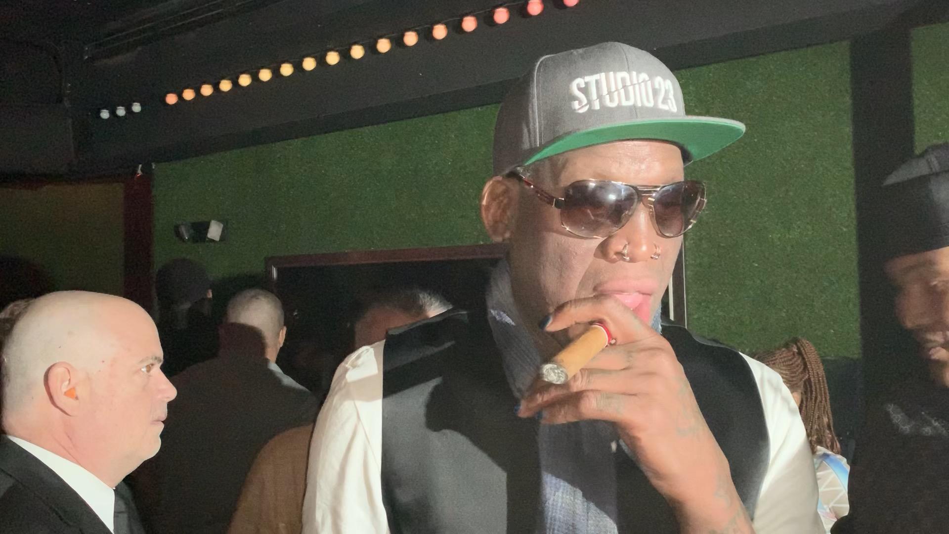 Dennis Rodman Party