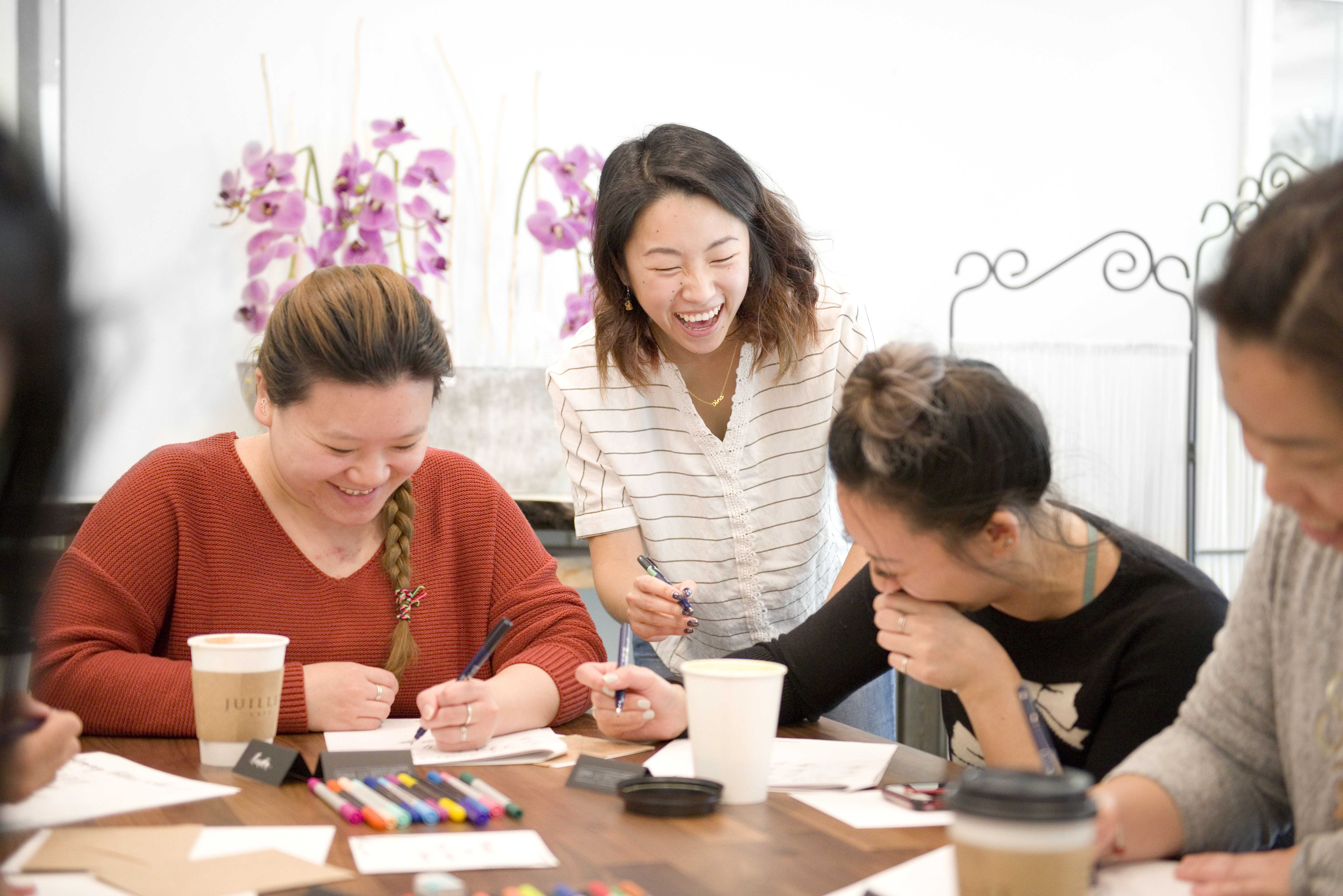 Vancouver Calligraphy Workshop