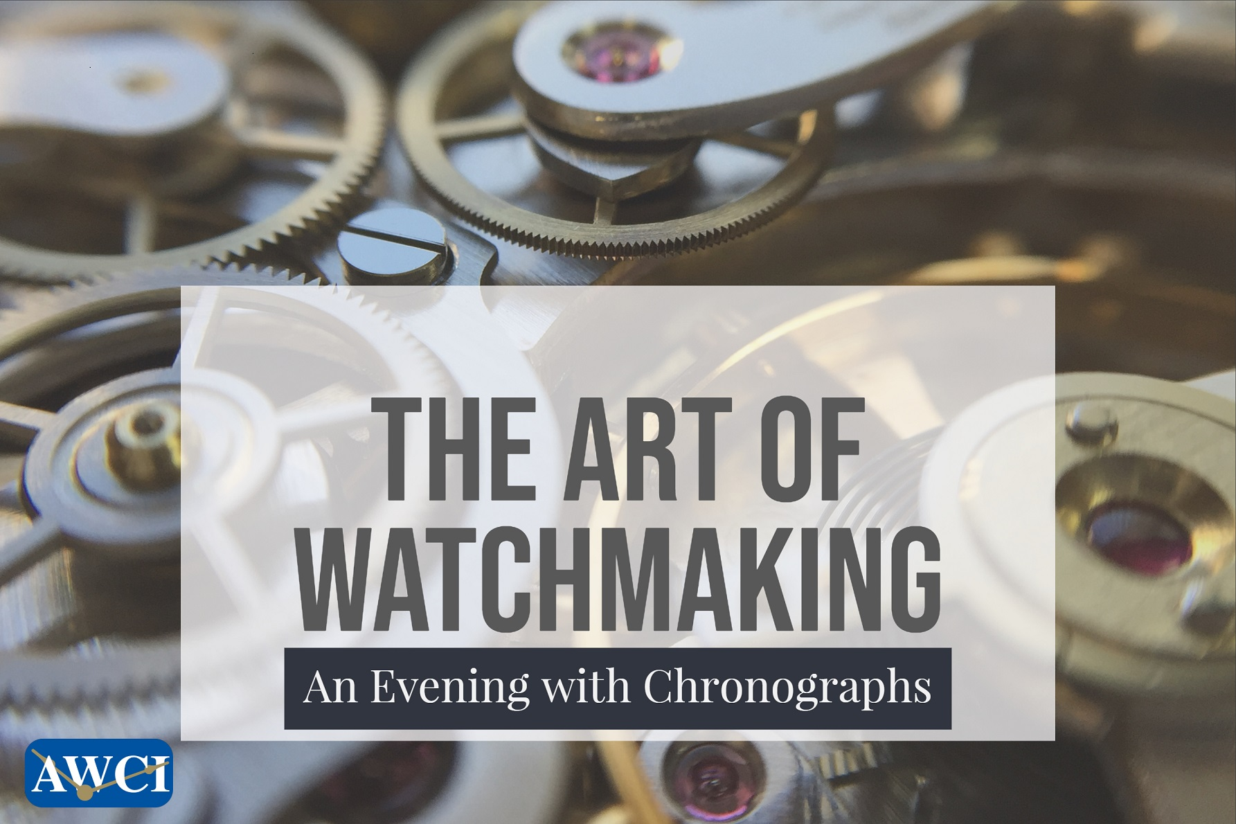 The Art of Watchmaking - An Evening with Chronographs image