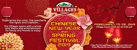 Chinese New Year and Spring Festival 2019