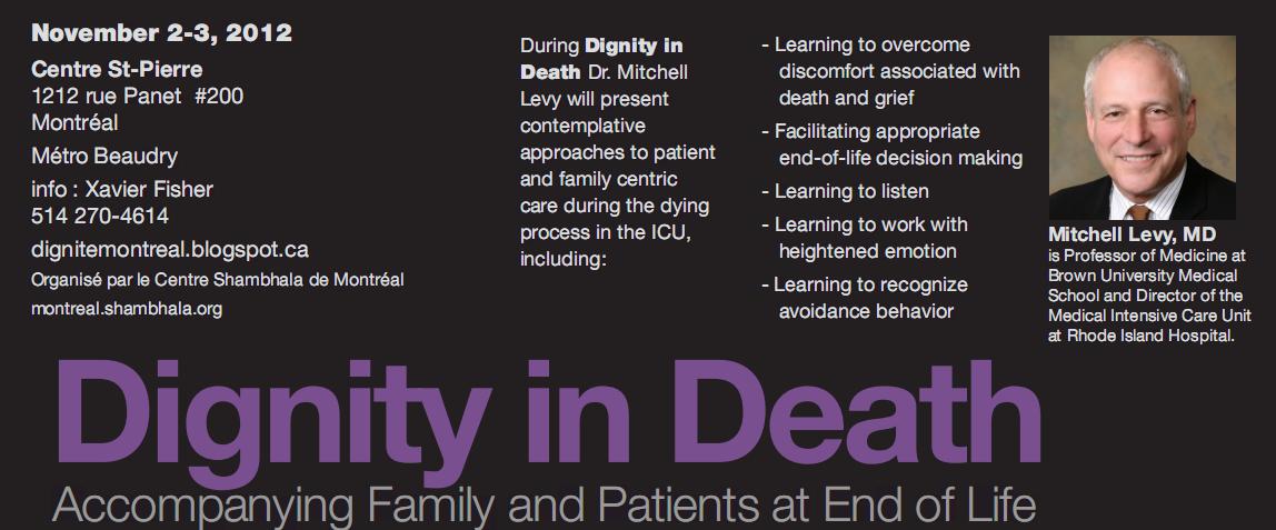 Header Summary - Dignity in Death