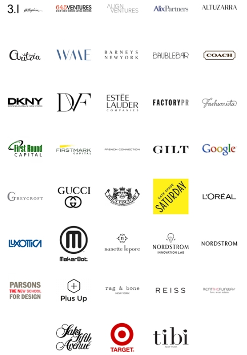 Decoded Fashion New York Summit 2014 Attending Brands