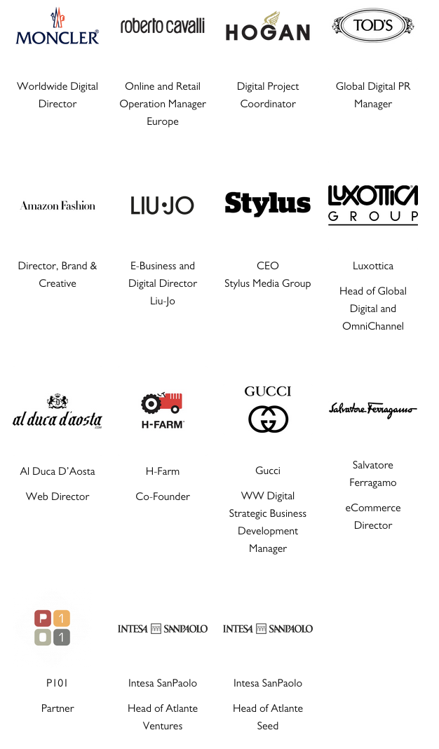 Decoded Fashion Milan 2014 Mentors