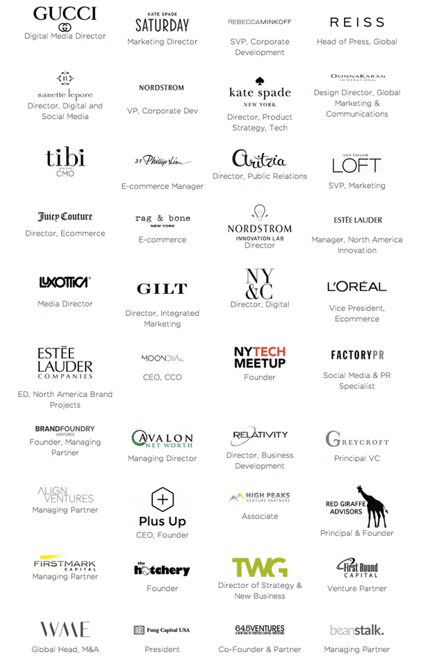 Decoded Fashion New York Summit 2014 Mentorship Hub