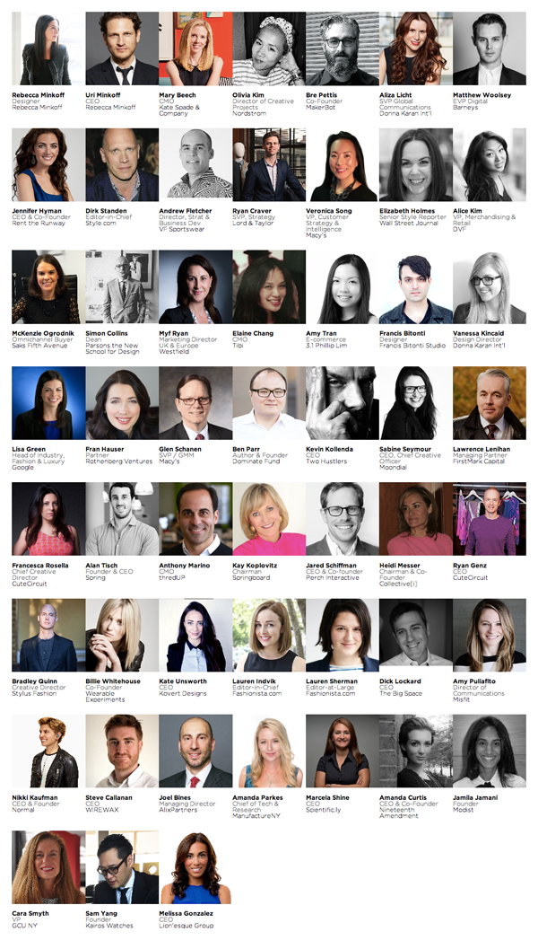 Decoded Fashion New York Summit 2014 Speakers