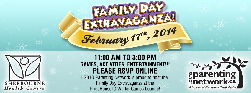 Family Day Extravaganza Banner