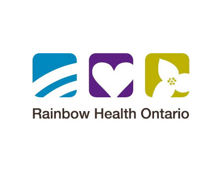 Rainbow Health Ontario Logo