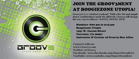 GROOV3 AT BOOGIEZONE UTOPIA!