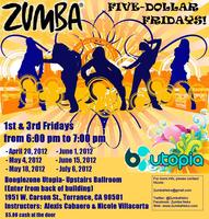 ZUMBA NEKO FIVE-DOLLAR FRIDAYS, now twice a month!