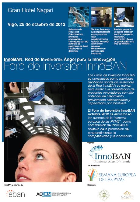 cartel del Foro de Inversión InnoBAN octubre 2012
