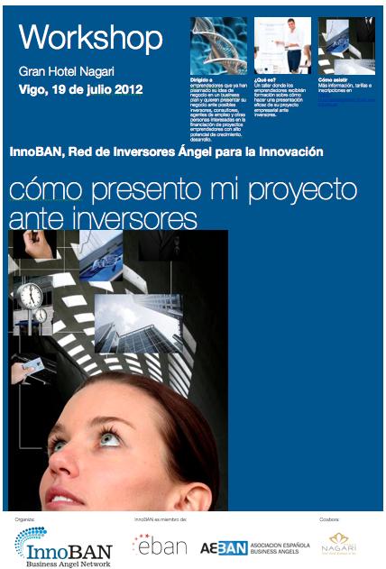 Cartel del workshop de InnoBAN