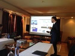Presentación de proyecto en Foro de Inversión InnoBAN
