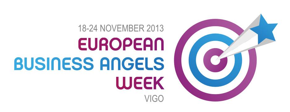 logo de la semana europea de los business angels en Vigo