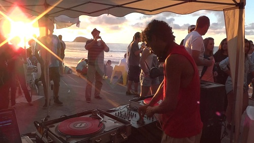Nickodemus Turntables on the Hudson