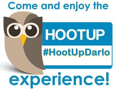 #HootUpDarlo - helping businesses use Social Media