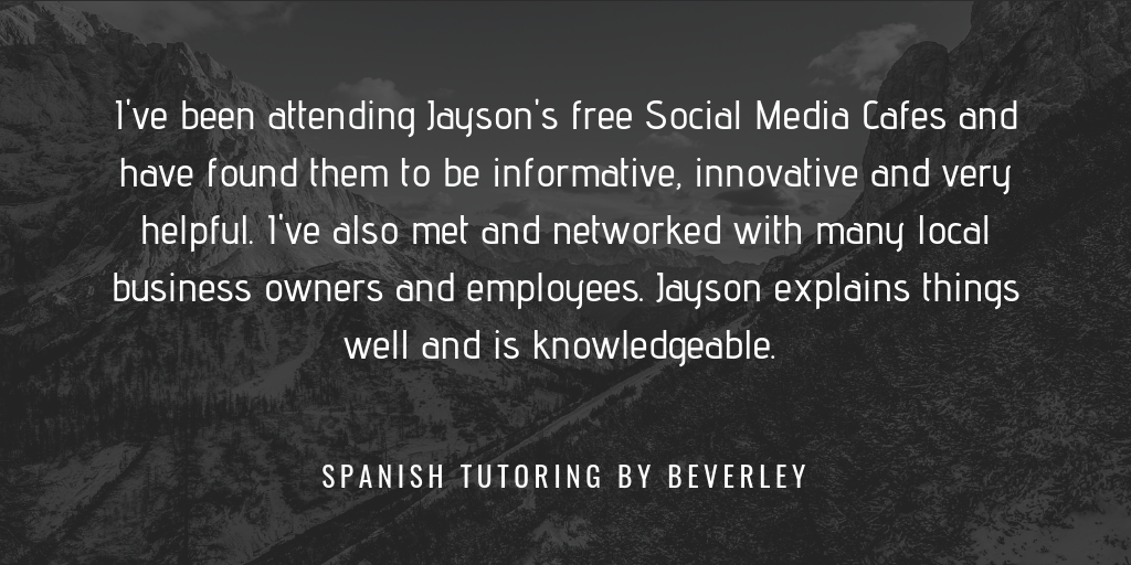 Testimonial from Spanish Tutoring by Beverley