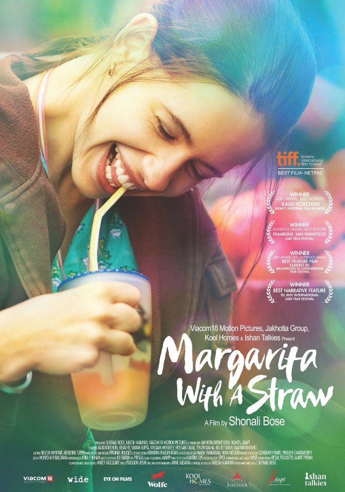 Film Poster image of woman drinking with a straw