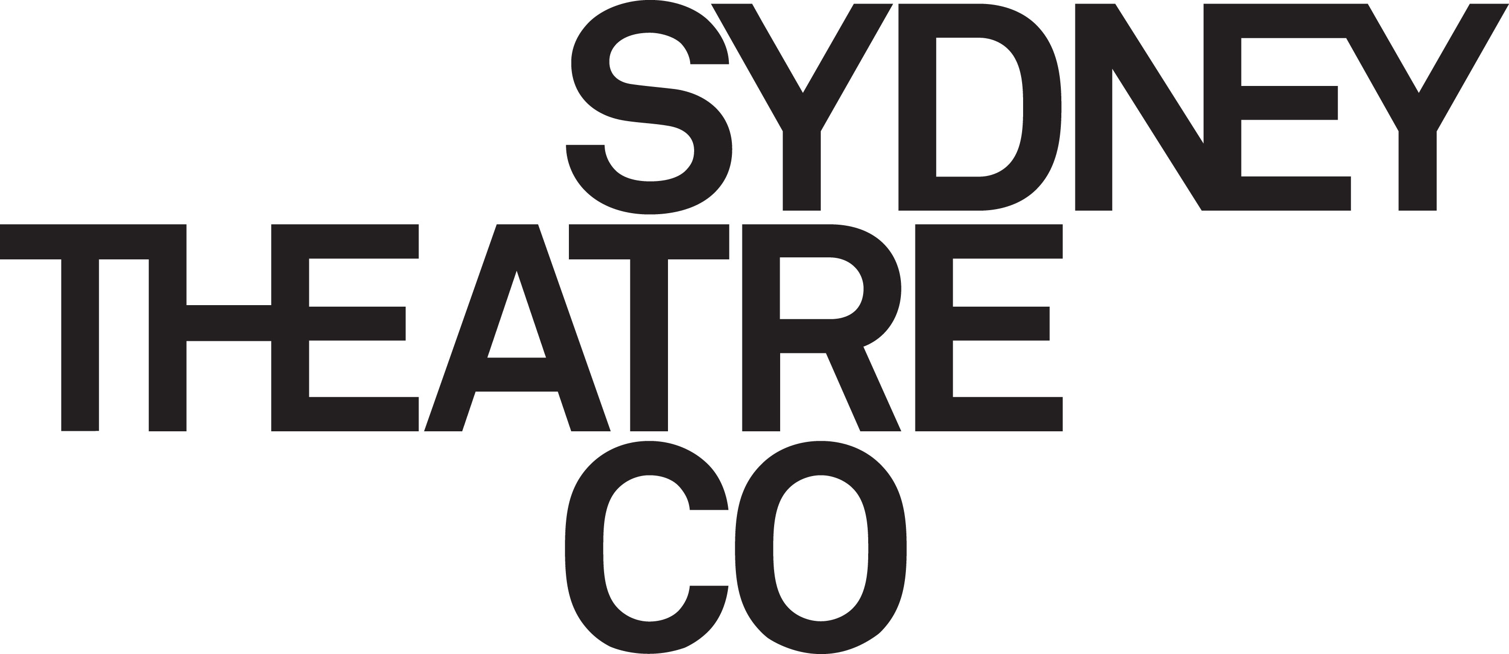 Sydney Theatre Company logo, black on white ground