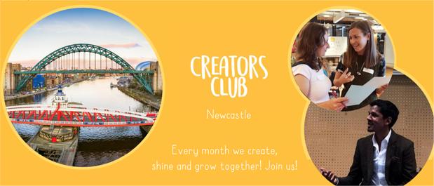 Creators Club in Newcastle