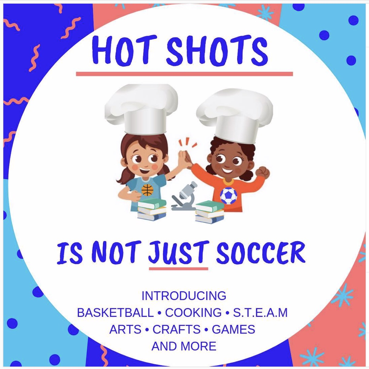 GEM Food Lab! Hot Shots is more than just soccer!