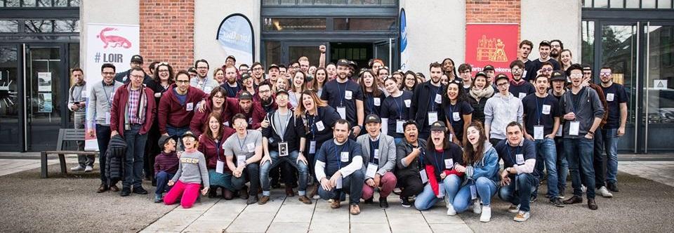 photo de groupe startup weekend blois